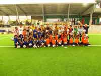 kids with phuket fc